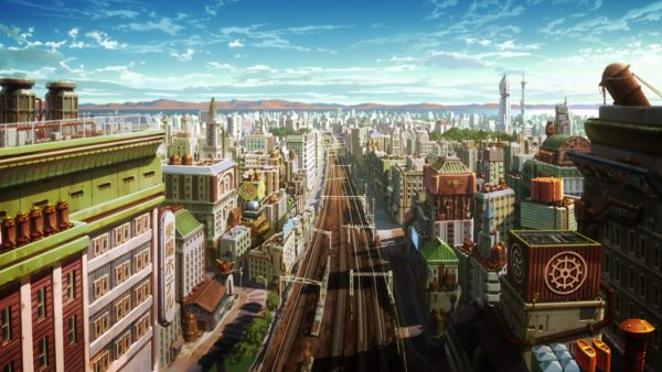 Tokyo in the Fire Force Solar Era