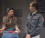 Rimmer argues with Lister