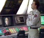 Rimmer listens to Holly's report