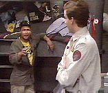 Rimmer and Lister argue again