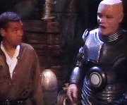 Kryten excitedly reports the rift