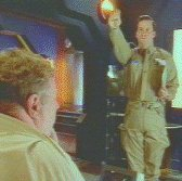 Rimmer salutes