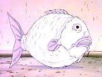 A fishy grenade