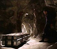 A cave and a coffin
