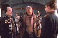 Londo and G'Kar meet Minister Chiolin