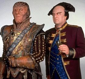G'Kar and Londo, strange bedfellows!