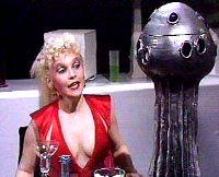 The Mice admire Trillians costume.