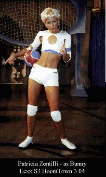 Patricia Zentilli as Bunny in Lexx Boomtown 3.04
