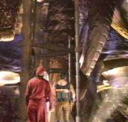 They enter the LEXX
