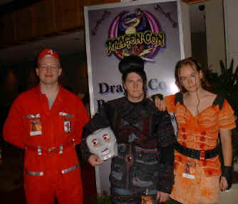 Todd as Stanley, HDS as Kai and Tree as Xev at the UScon Recon Mission to Dragon Con 2002