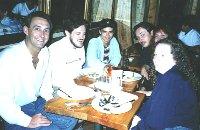 The shoe: Sad, Fish, Gordon,Master, Cykat & Rachel