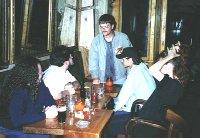 Rach, Fish, a drunk, Gordon and Cykat