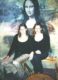 The three Mona Lisa's  (?)