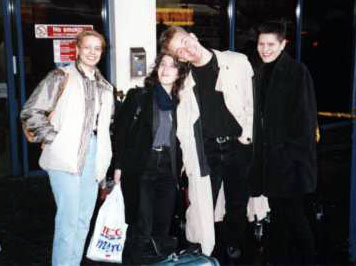 L-R:  Sally, Erith, Jihad, Doro.