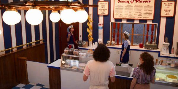 Starcourt Ice Cream Parlour