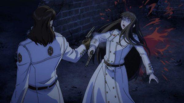 Cain shoots Elaine